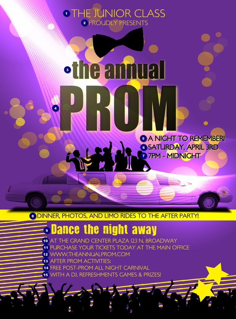 Fieldstation.co  Prom Ticket Template