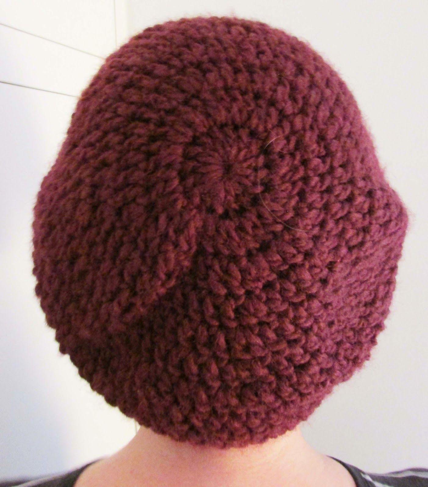 Lina\'s Land: Slouchy beret crochet pattern | Crochet | Pinterest ...