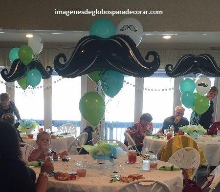 decoracion en globos para hombres arreglos 15