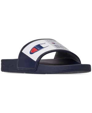 13edd44df9e CHAMPION MEN S IPO JOCK SLIDE SANDALS FROM FINISH LINE.  champion  shoes