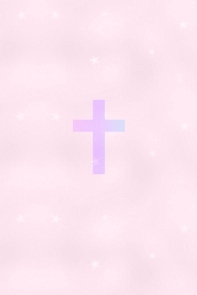 Pink Cross Christian Cross Wallpaper Cross Wallpaper Iphone Wallpaper Quotes Inspirational