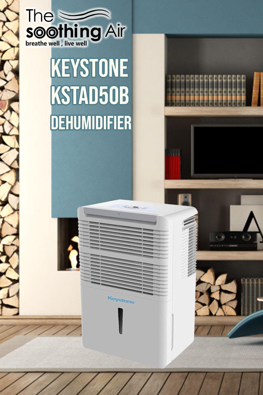 Keystone KSTAD50B Energy Star Review, 50Pint Dehumidifier