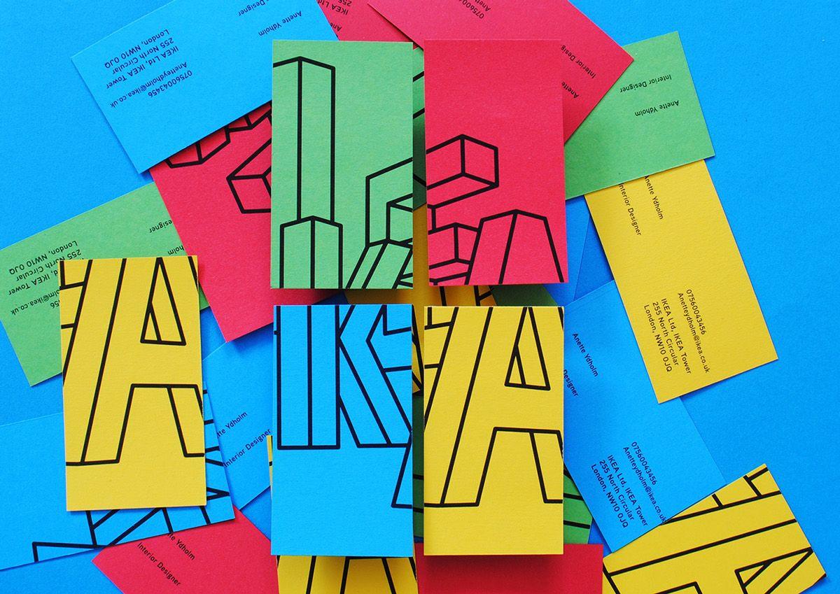 IKEA Visual Identity on Behance