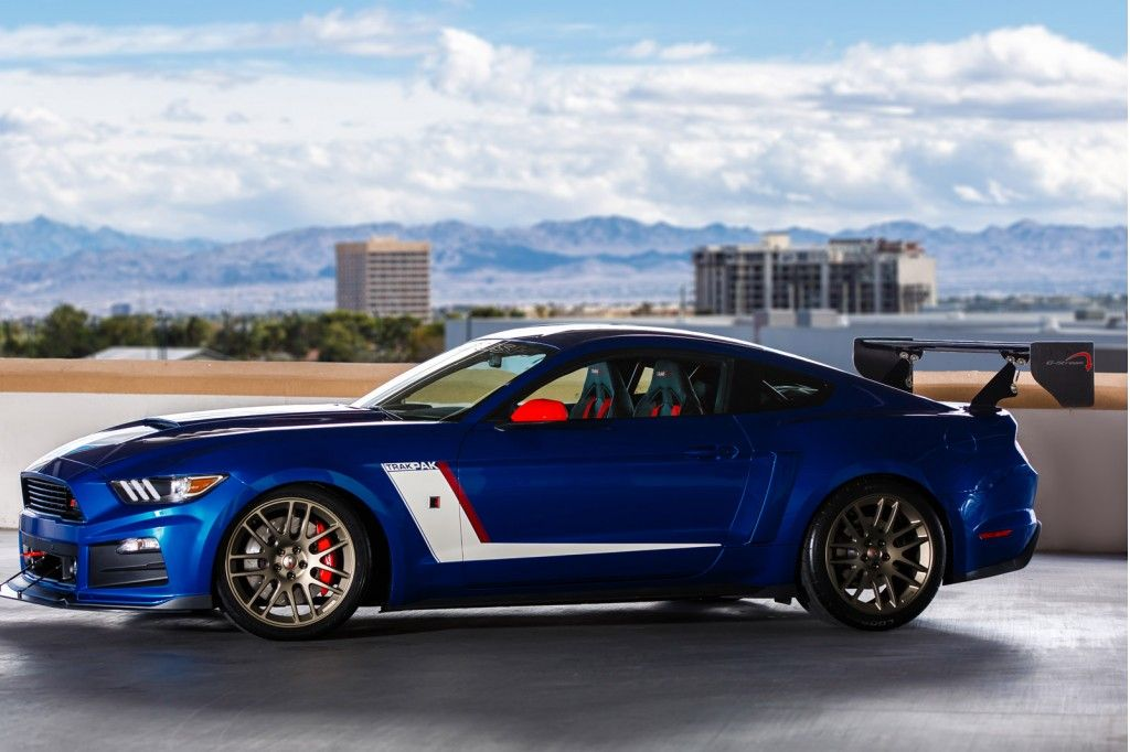 Ford Brings A Bevy Of Modified Mustangs To Sema Ford Mustang