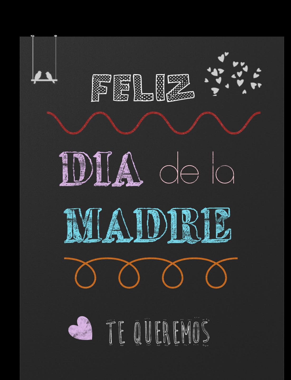 Dia De La Madre Imprimibles Para Regalar Feliz Día De La