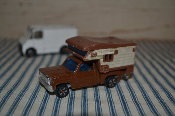 VINTAGE HOT WHEEL CAMPERS | Vintage camper and delivery truck by vintagefarmhousechic on Etsy