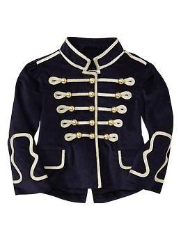 9d6b30104 Velvet band jacket | Gap | G i r l s f a s h i o n | Band jacket ...