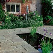 Patio Stone Market: Vintage Stone Frost Setts Natural Stone Different Sizes.  Compare Natural To