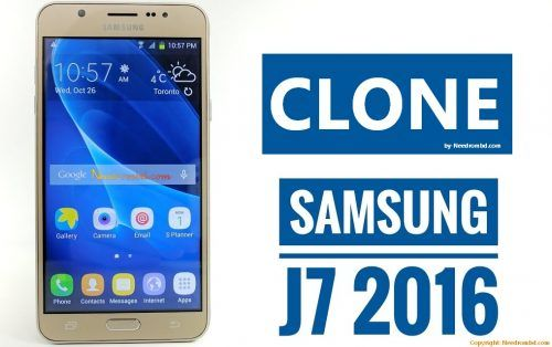 Samsung J7 Clone MTK6582 Flash File Without Password