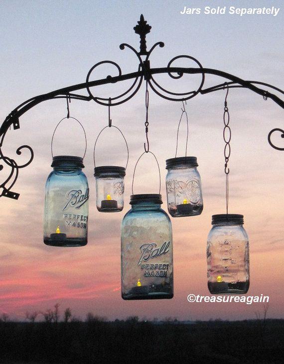 Mason Jar Lanterns 15 DIY Hanging Mason Jar Lids Do It