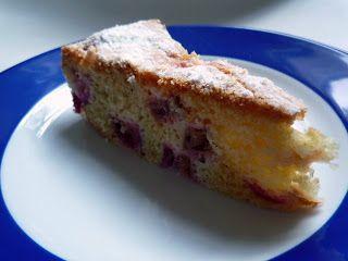 Bolli's Kitchen: Gâteau moelleux à la rhubarbe - Saftiger Rhabarberkuchen