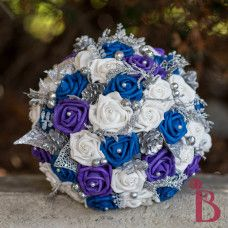 purple and silver wedding bouquets - Google Search | wedding ideas ...