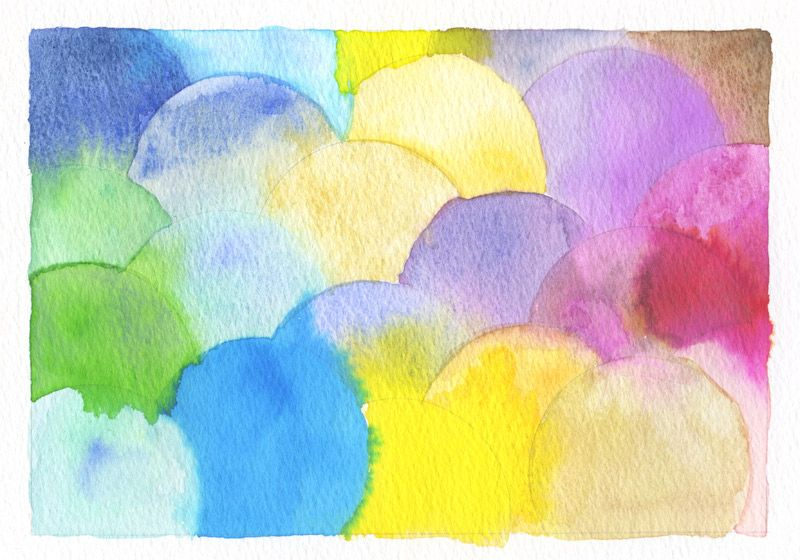 Am On The Present Tense Watercolor Clouds Watercolor Art Journal Artist Inspiration