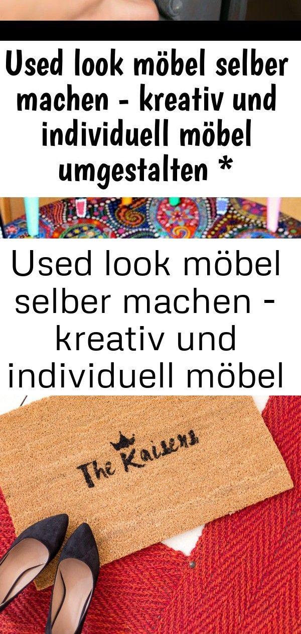 Used look möbel selber machen - kreativ und individuell möbel umgestalten * anleitung * 2 3 #steinebemalenanleitung