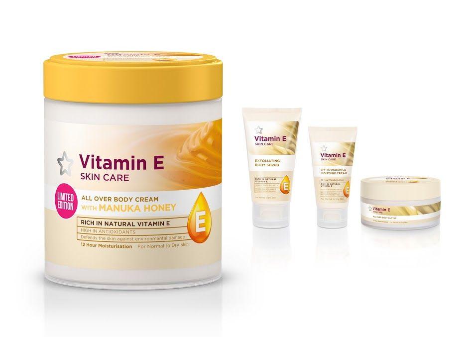 Superdrug Limited Edition Vitamin E Body Cream Vitamin E Body Cream Vitamins