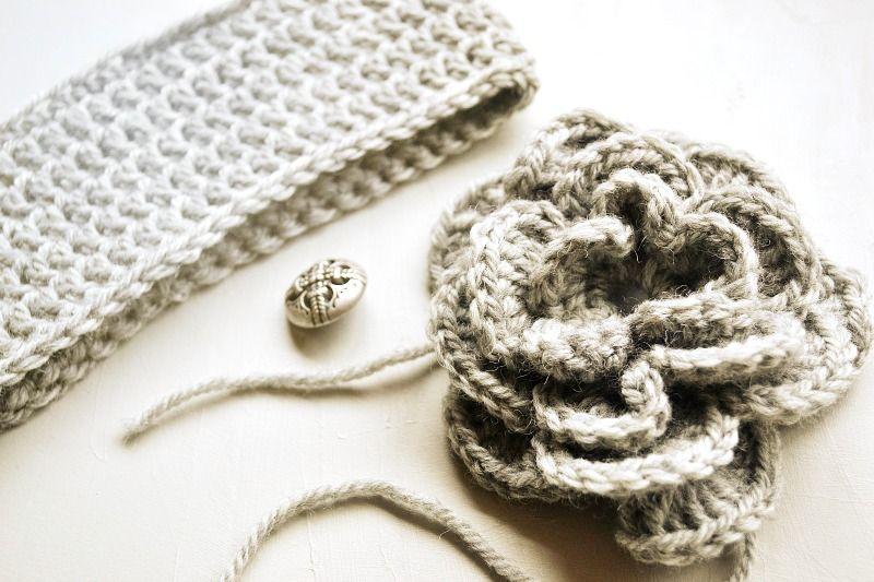 Crochet Flower Head Warmer Free Pattern From Nikki In Stitches ...