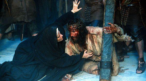 VIA CRUCIS: CUARTA ESTACION - JESÚS SE ENCUENTRA CON SU MADRE ...