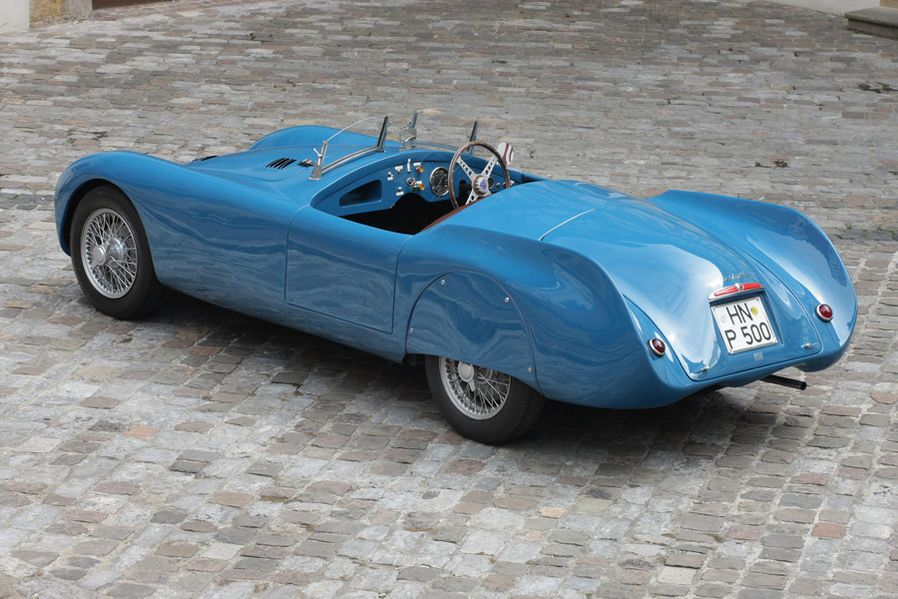 1947 Cisitalia 202 SMM Nuvolari Spider