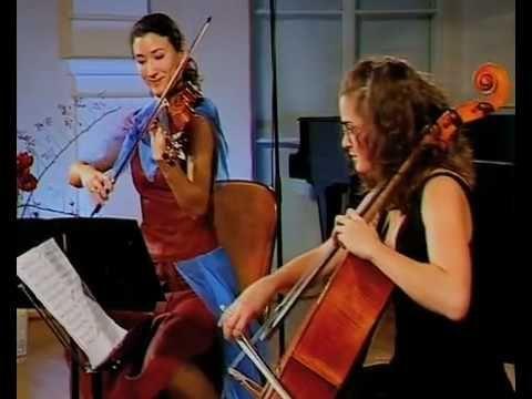 Tchaikovsky Piano Trio - 1. Pezzo Elegiaco (PART 1) - Zagreb Chamber Music Festival 2008
