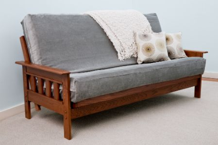 Man Cave Futon : The maine frame ii futon bedworks of furniture