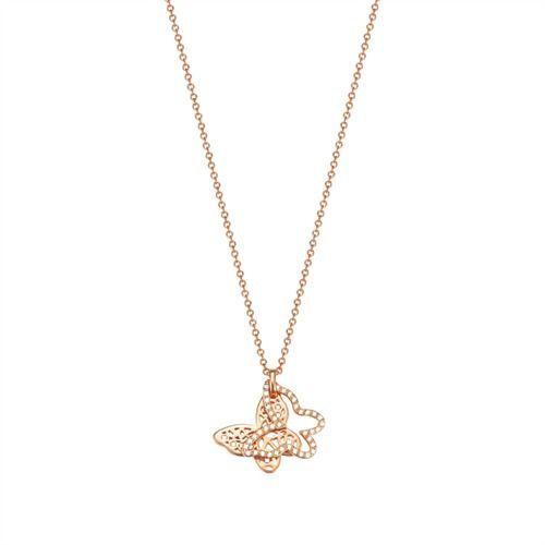 Esprit Kette roségold Butterfly ESNL03432C420 http://www.thejewellershop.com/ #esprit #kette #chain #necklace #roségold #butterfly #schmetterling #steel #jewelry #schmuck