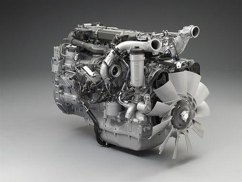 Scania 360 Truck Engine Engineering Trucks