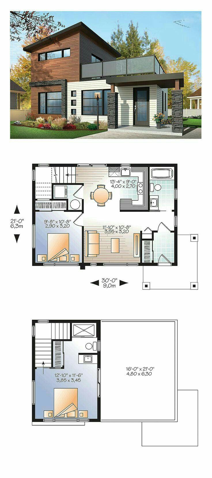 Pin Oleh Macsyver Di Plan D Architecture Denah Rumah Rumah Indah Desain Rumah