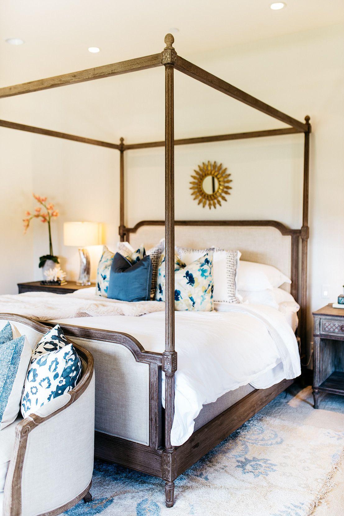 M Swabb Interior Design San Diego RSF SIT PRETTY bedroom
