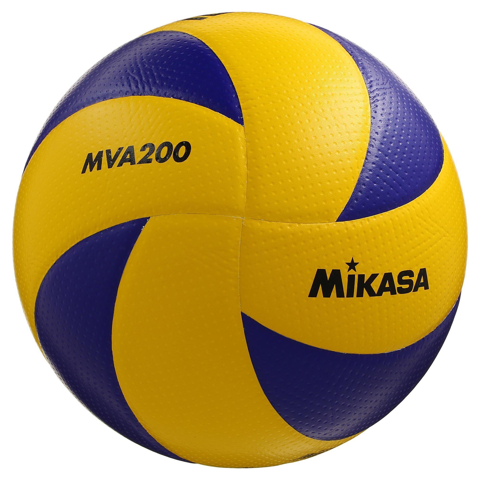 Mikasa Volleybal Mva 200 Geel Blauw In 2020 Volleybal Mikasa Blauw