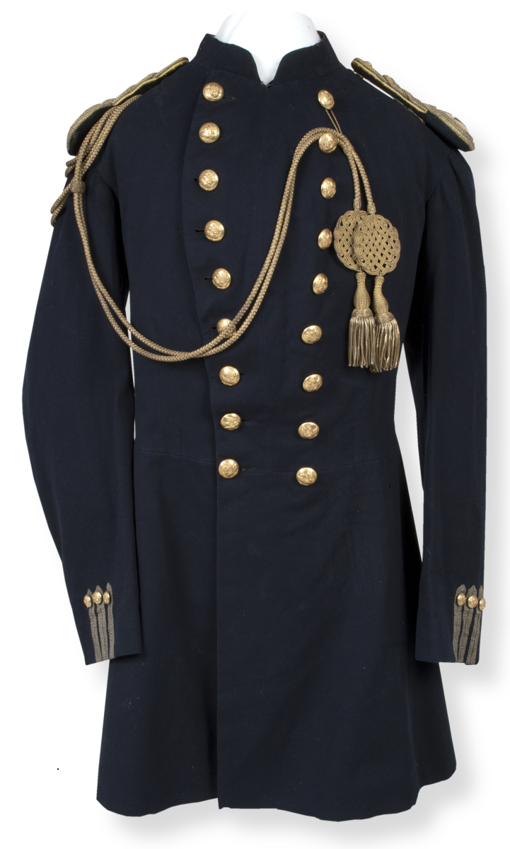 Old Coat inspiration...1870s military jacket from Fort Hays, KS ...