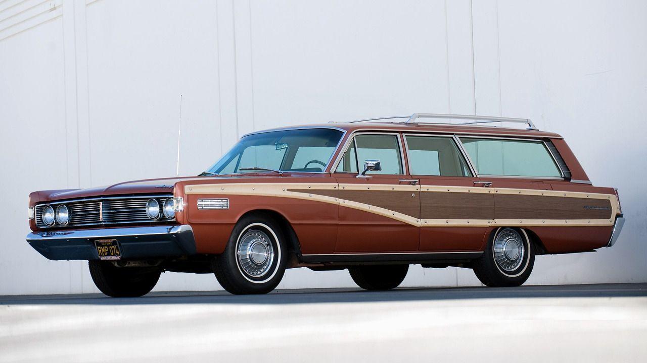 1966 Mercury Colony Park Wagon cars, Station wagon cars
