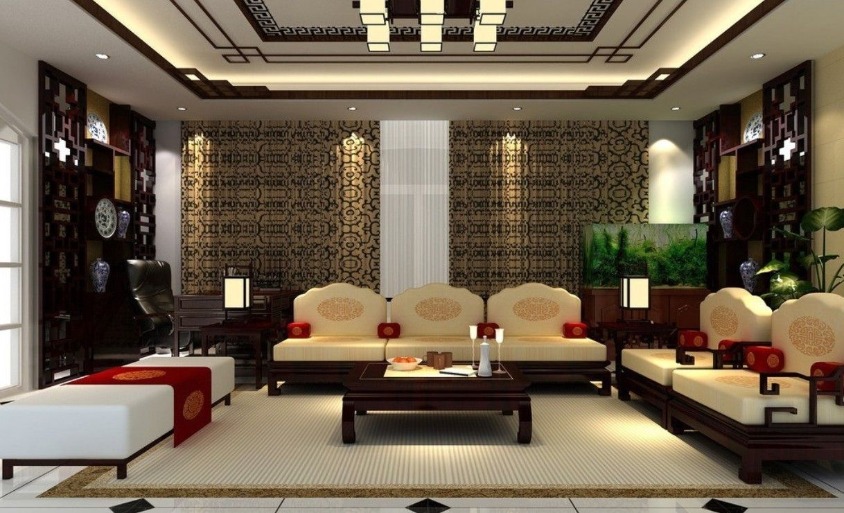 Pin by Vern Rowe on CHINESE INTERIORS | Chinese interior, Living room  designs, Room design