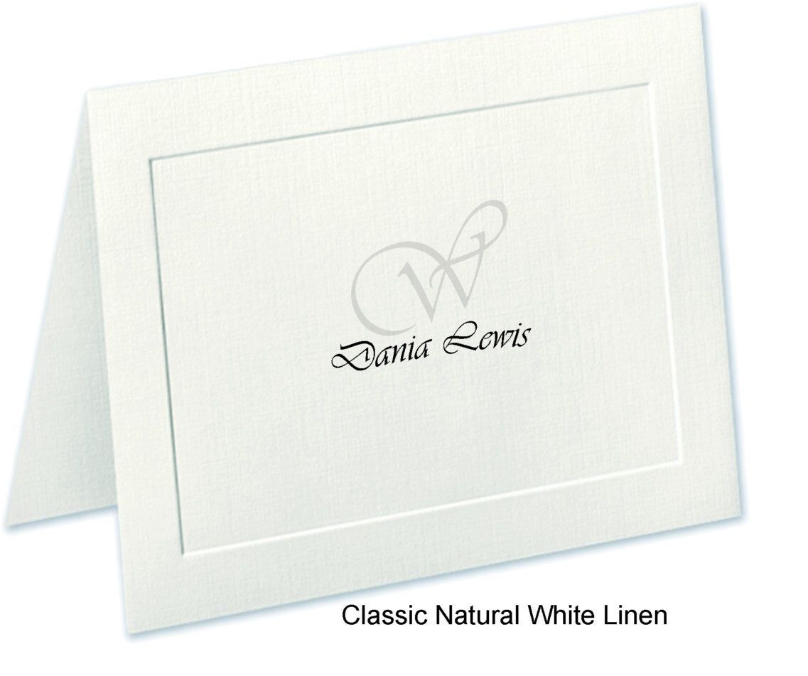 S Stationery Embossed Panel