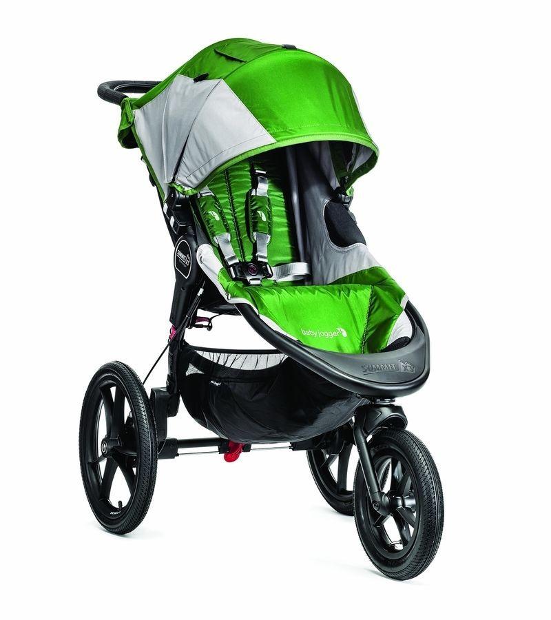 Summit Baby Stroller Baby Jogger X3 Three Wheel Running