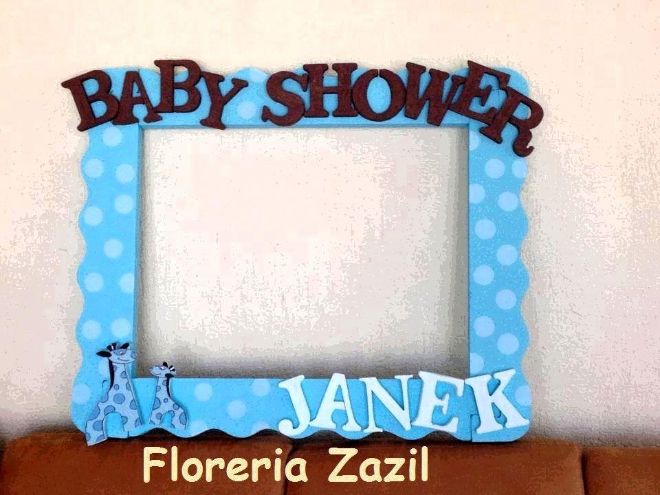 Cuadros tematicos para Baby Shower #Floreriazazil ...