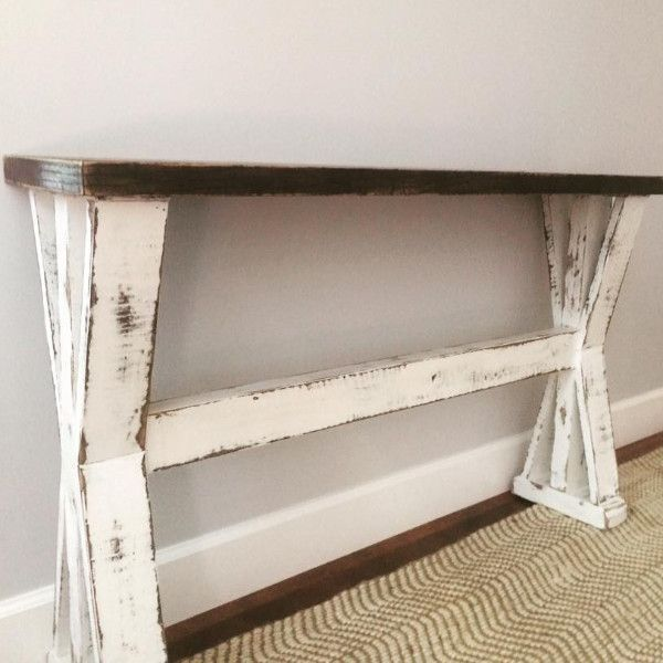 entryway table or sofa table
