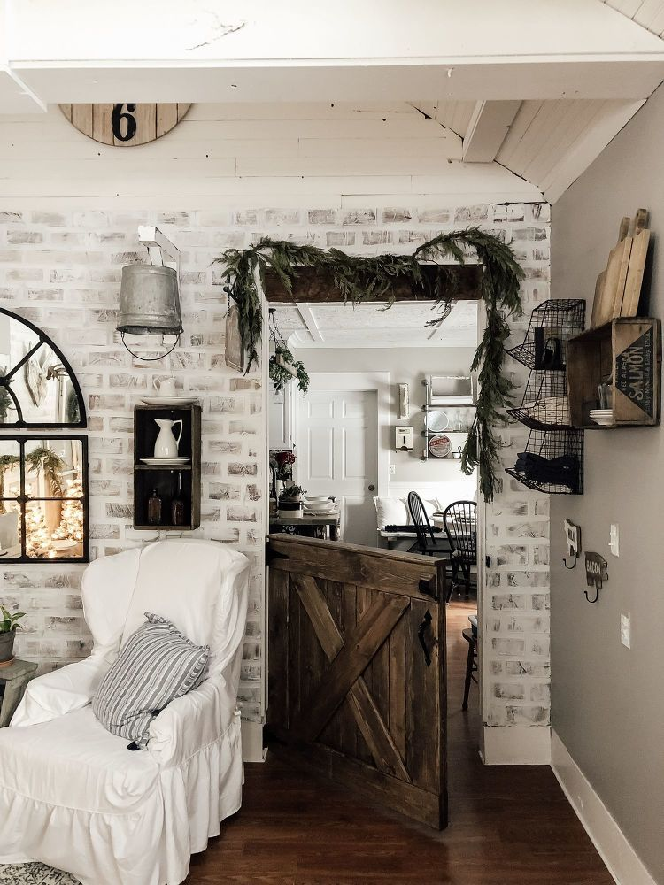 amusing brick accent wall bedroom | Faux Brick Accent Wall | Brick accent walls, Brick wall ...