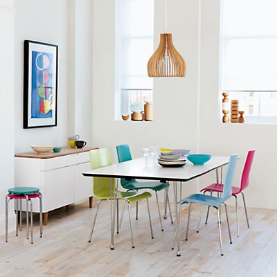 John Lewis Jasper Table And Chairs White