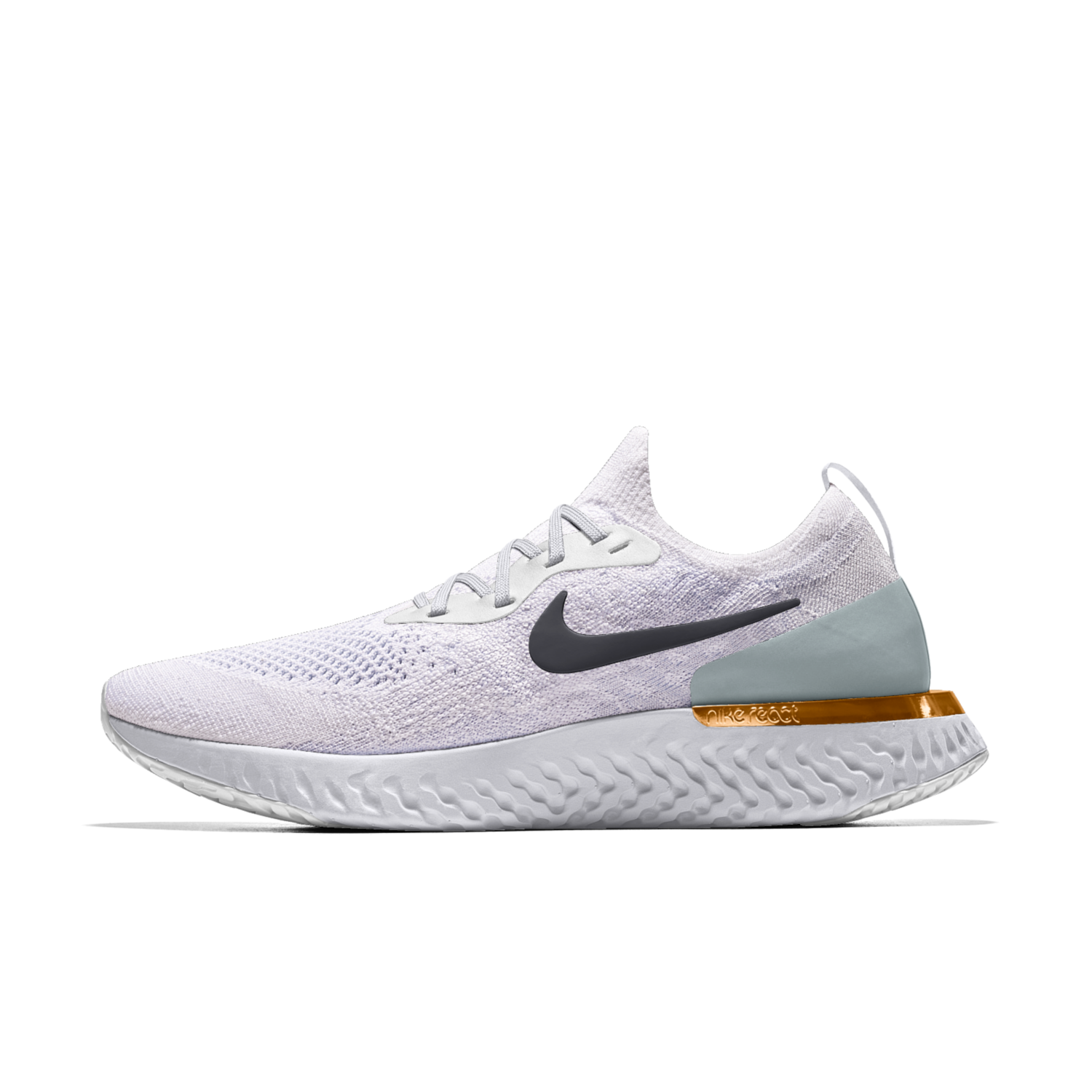 7adb12a79187 Nike Epic React Flyknit iD Running Shoe. Nike.com UK