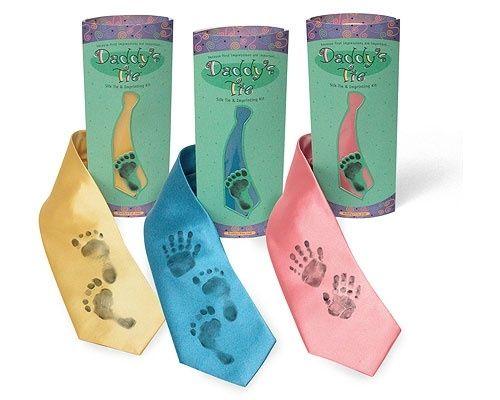 Footprints & Handprints Daddy's Tie by comex