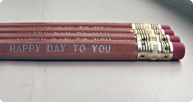 How can you not have a happy day when using these pencils?