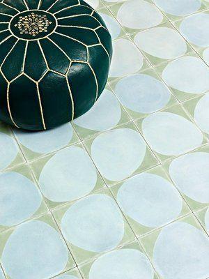 Stone Celadon Icicle Cement Tiles Avec Images Carreau De