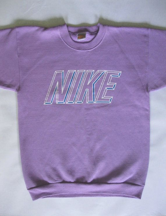 8c3b04ab461b vintage Nike short sleeve sweatshirt light by afterglowvintage