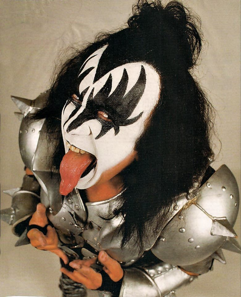 Kiss Band Makeup: Epic Rights Client Gene Simmons Epicrights.com
