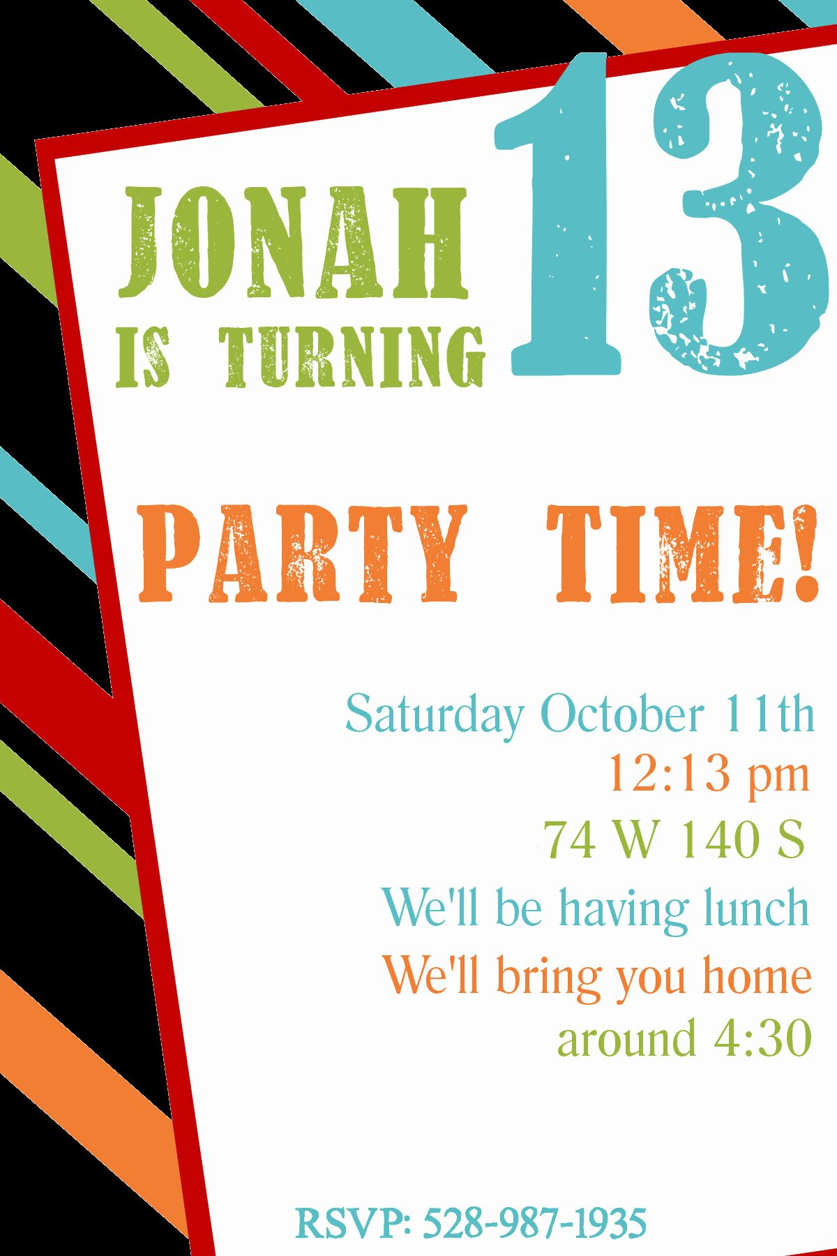 Free Printable Surprise Birthday Invitations Best Of F… in