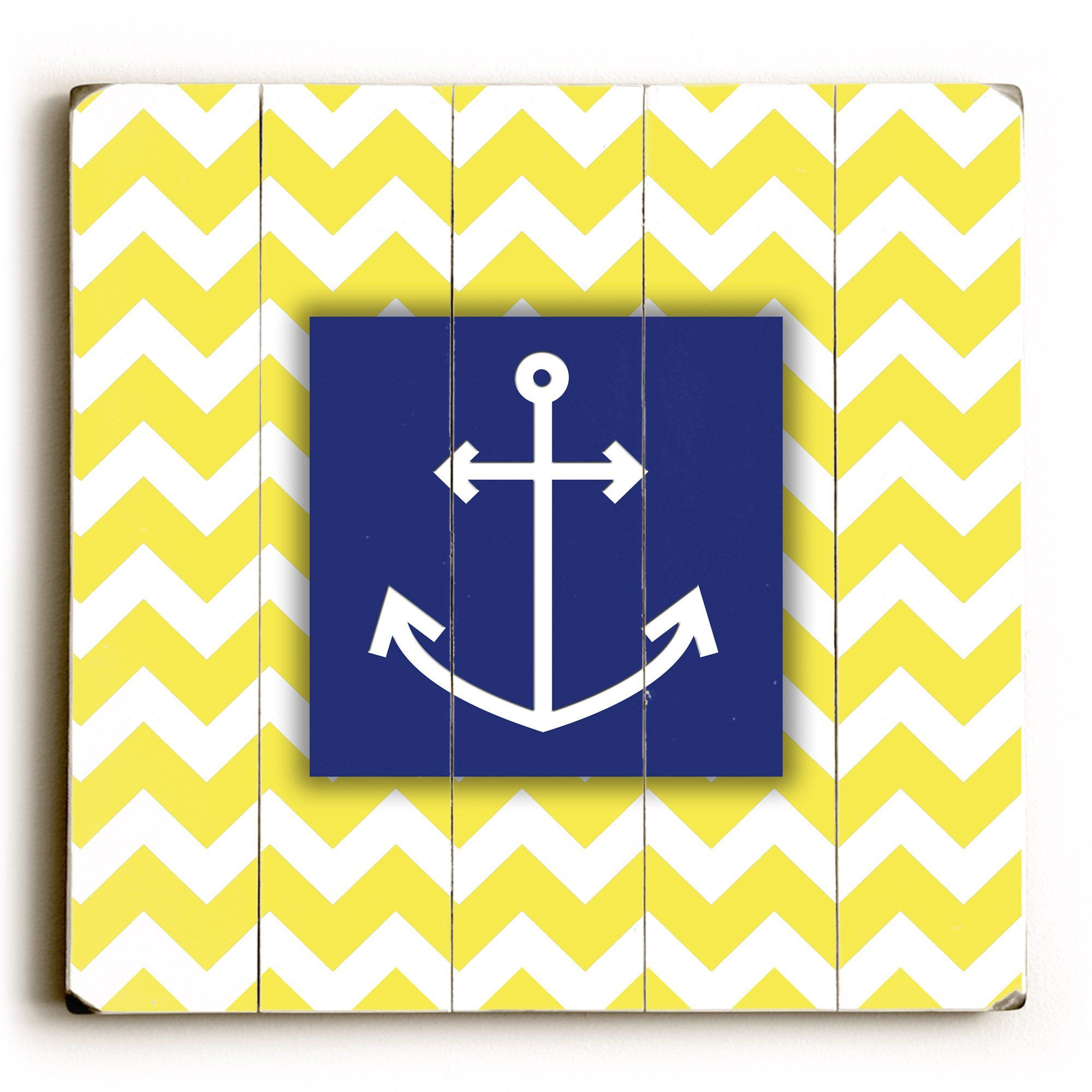 Anchor Wood Wall Decor by Misty Diller | Products