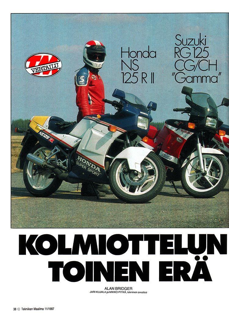 Honda Ns Suzuki Rg Motorcycles Pinterest Honda Motorcycle