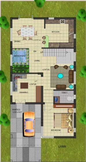 2488Ground_Floor_Plan_30x60_NEWS.jpg   j   Pinterest   Duplex ...