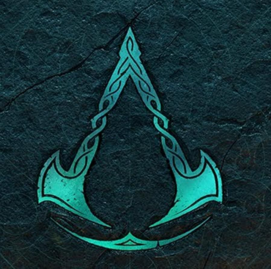 The New Assassin S Creed Set During The Viking S Era Has Two Axes In Its Symbol In 2020 Assassin S Creed Black Assassins Creed Tattoo Assassins Creed Art