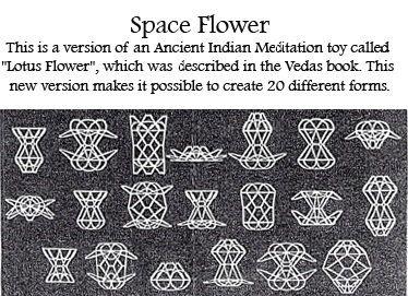 Space flower meditation toy lotus flower handmade mandala wire space flower meditation toy lotus flower handmade mandala mightylinksfo